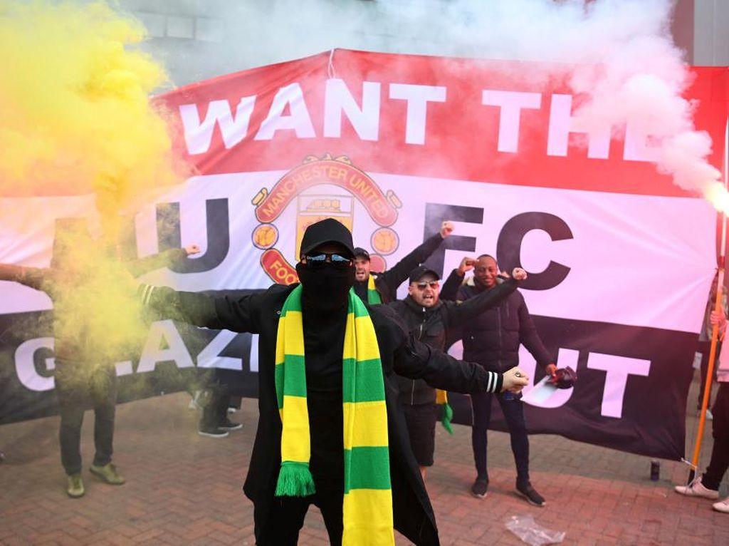 Keluarga Glazer Bungkam soal Aksi Demontrasi Fans MU