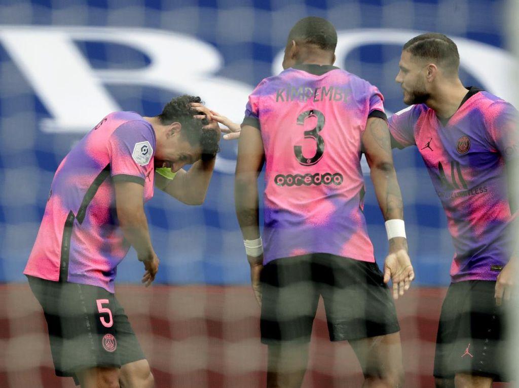 PSG Vs Lens: Les Parisiens Menang 2-1