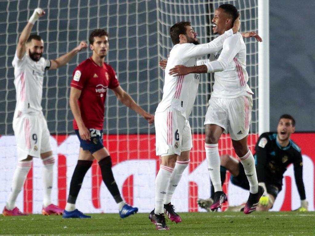Real Madrid Vs Osasuna: Los Blancos Bekuk Los Rojillos 2-0