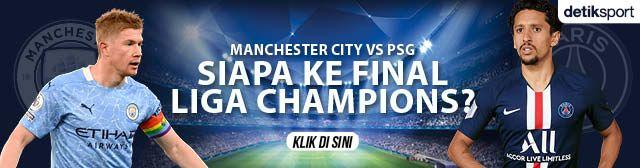 Banner Man City vs PSG