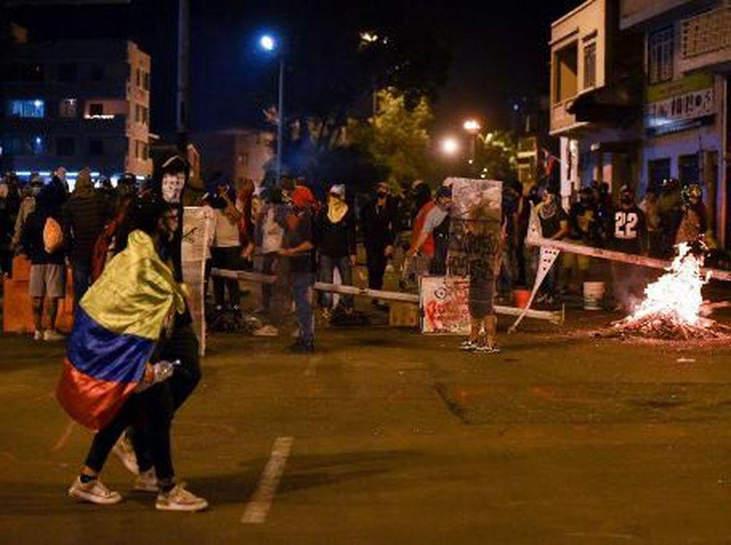 Bentrok di Kolombia, 17 Orang Tewas-800 Lebih Terluka