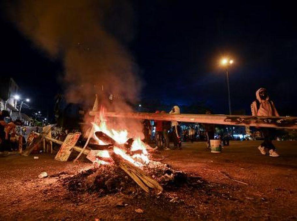 Bentrok Pedemo Vs Polisi di Kolombia, 17 Orang Tewas-800 Lebih Terluka