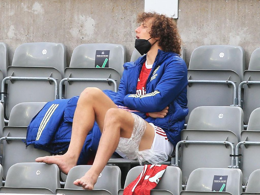 David Luiz Cedera, Terancam Absen hingga Akhir Musim