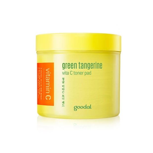 Goodal Green Tangerine Vita C Toner Pad mengandung Vitamin C mencerahkan kulit/shopee.co.id