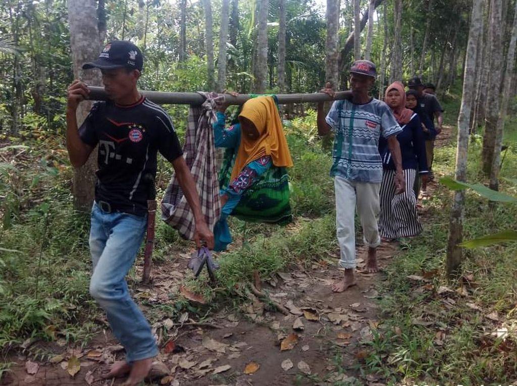 Respons Pemkab Pandeglang soal Ibu Hamil Ditandu Lewati Hutan