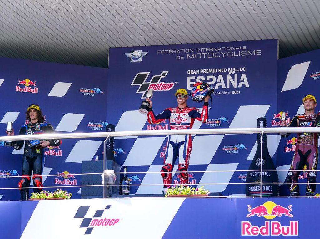 Tim Indonesia Raih Podium di Moto2 dan Moto3 Spanyol