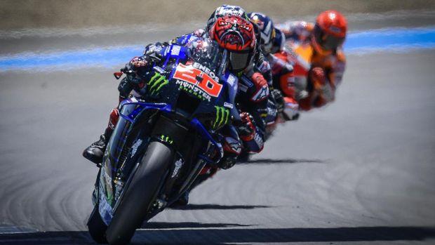 Fabio Quartararo di MotoGP Spanyol 2021.