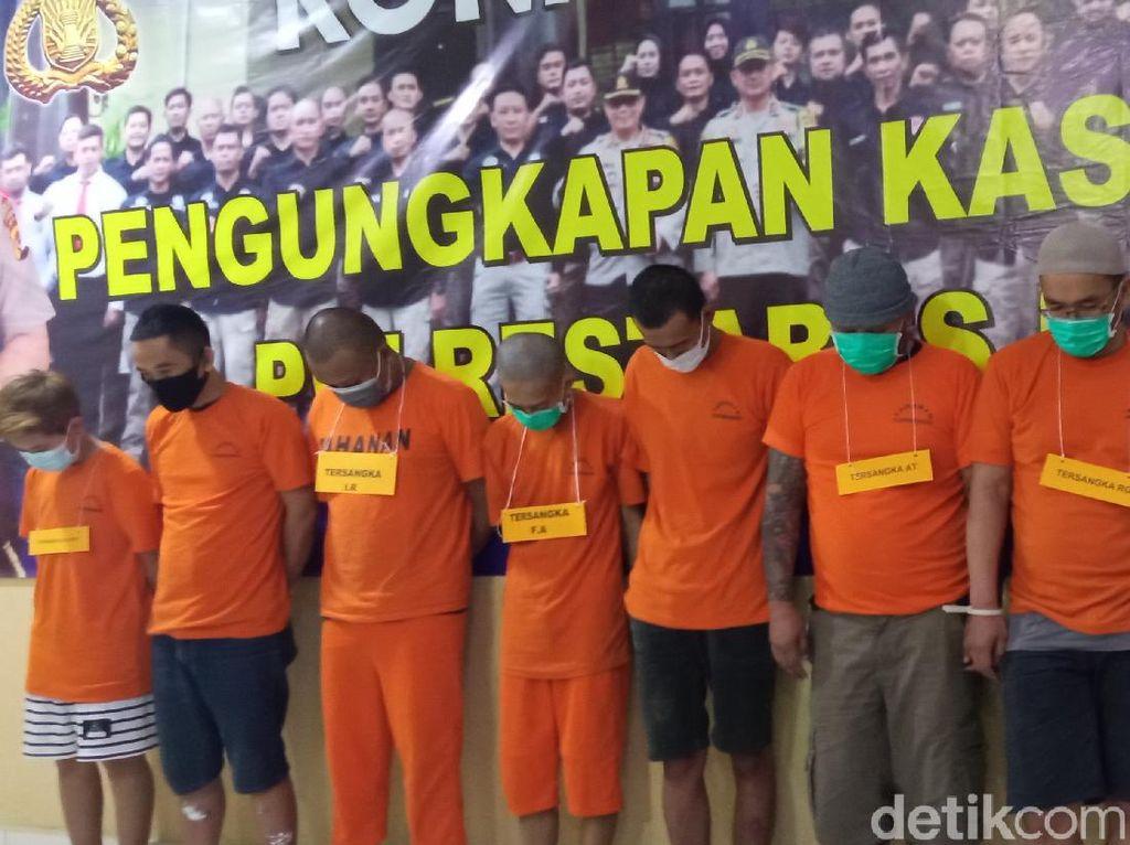 Polisi Gulung 9 Pengedar Sabu di Bandung