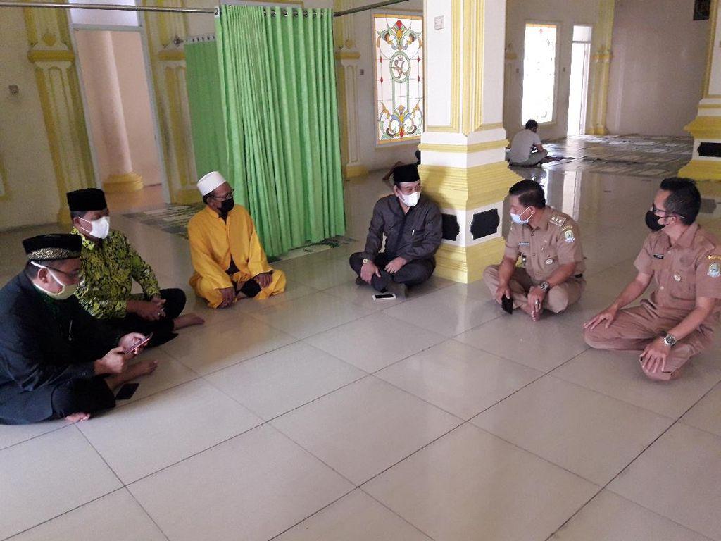 DMI Jabar Datangi Pengurus Masjid yang Larang Jemaah Pakai Masker