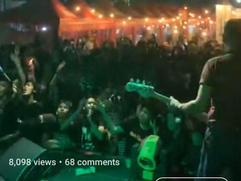 Penjelasan Superglad soal Viral Konser Musik di Cilandak