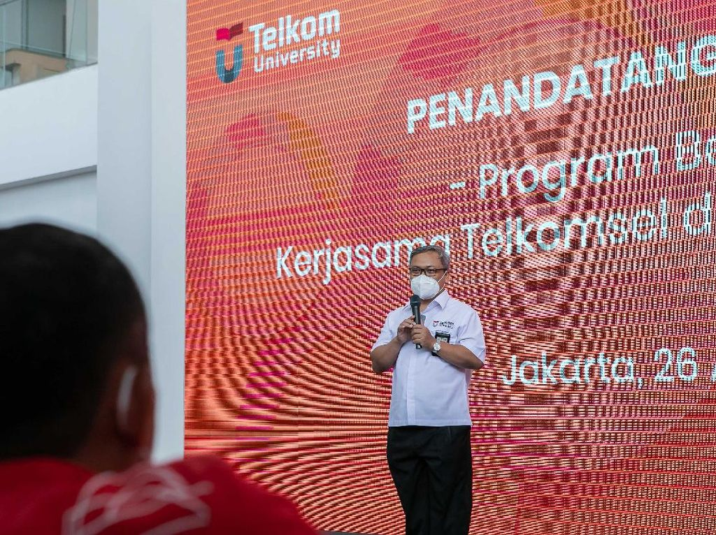 Telkomsel & Telkom University Buka Program Beasiswa Digital Talent