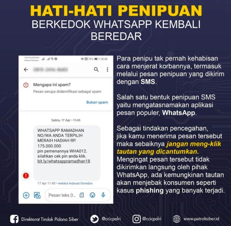 Penipuan Whatsapp