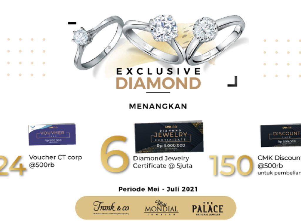 Ada Voucher Berlian Rp 5 Juta Gratis dari program Exclusive Diamond, Mau?