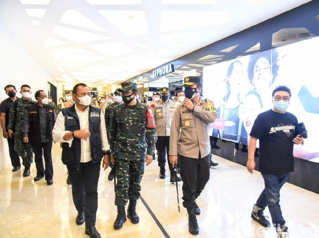 Forkopimda Jatim Cek Pusat Belanja di Surabaya yang Berpotensi Picu Kerumunan