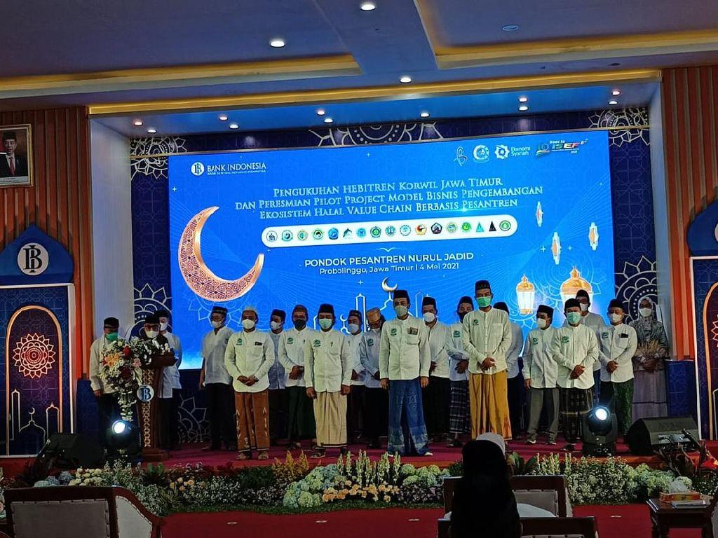 Pengembangan Bisnis Pesantren Diluncurkan di Ponpes Nurul Jadid Probolinggo