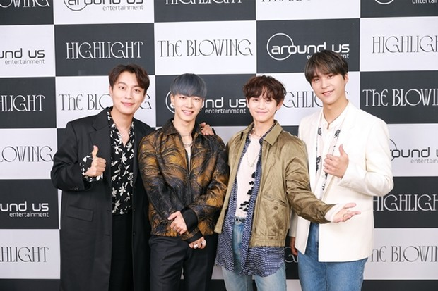 Highlight press conference comeback The Blowing Album