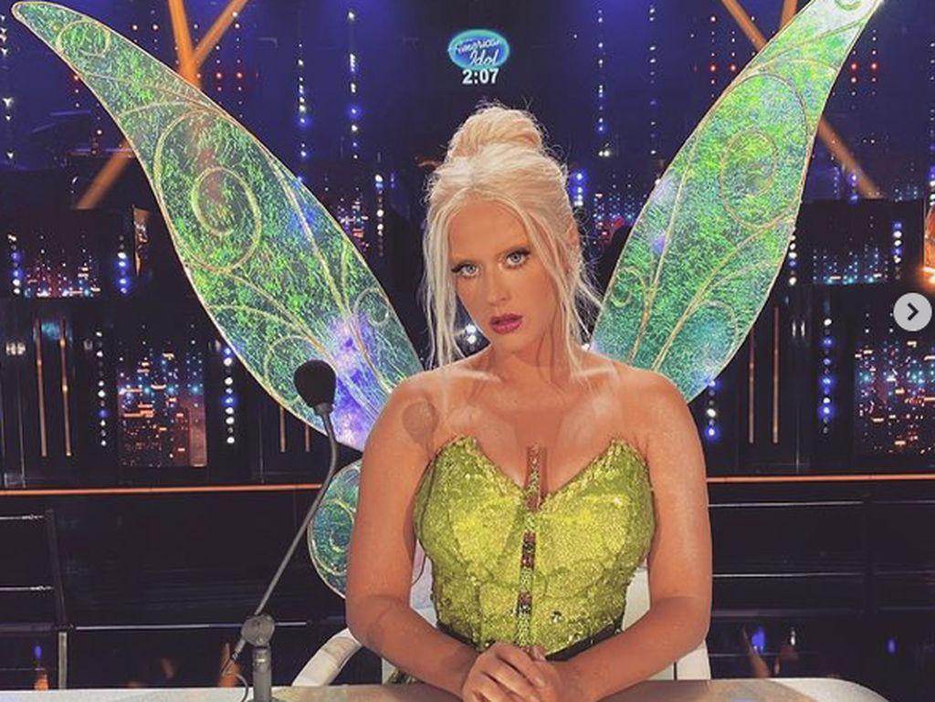 Katy Perry Bleaching Alis demi Jadi Tinkerbell