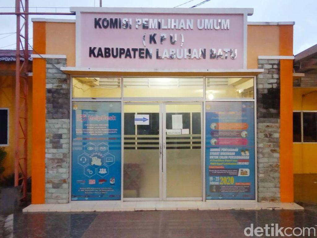 Yusril Bakal Gugat Hasil PSU ke PTUN, KPU Labuhanbatu Tunggu KPU Pusat