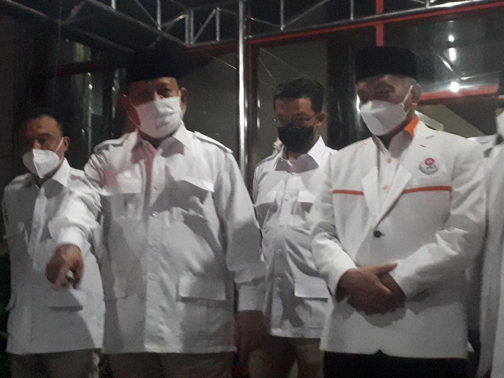 Bertemu PKS, Prabowo Nostalgia Perjuangan Pilkada DKI dan Pilpres