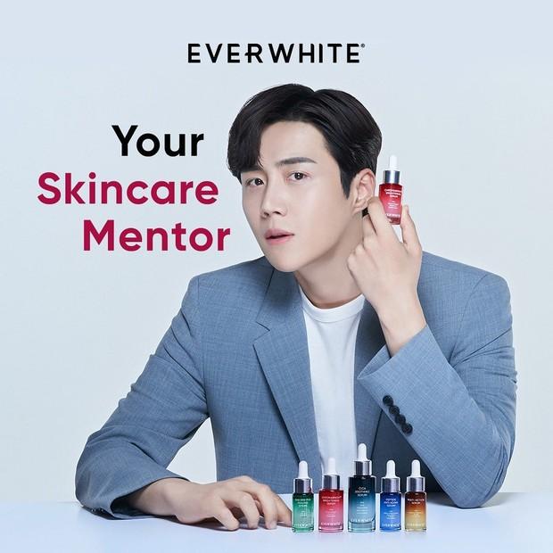 Kim Seon Ho dengan Produk Everwhite/instagram.com/everwhiteid