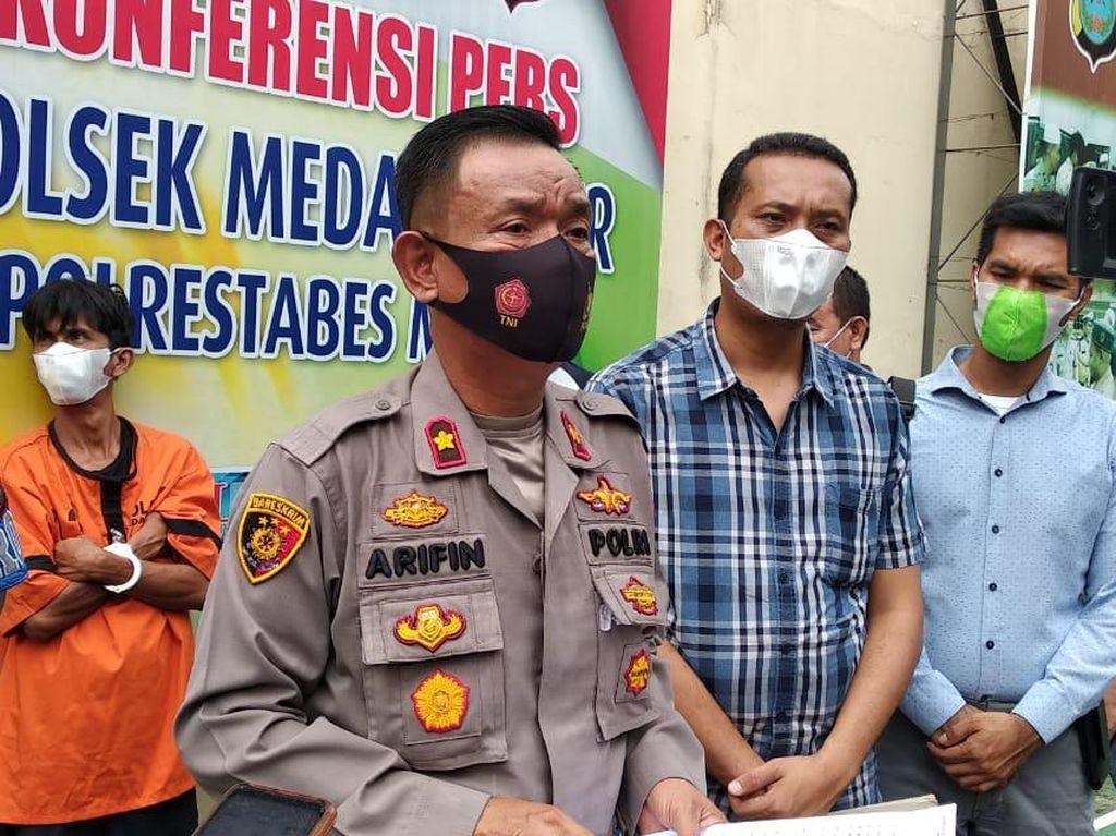 Curi Uang Pasien Isolasi COVID, Pria di Medan Ditangkap Polisi