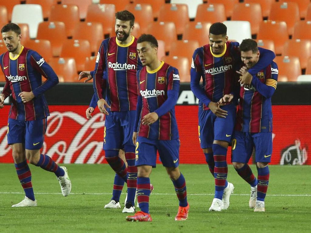 Jelang Barcelona Vs Atletico, Messi Open House di Rumahnya