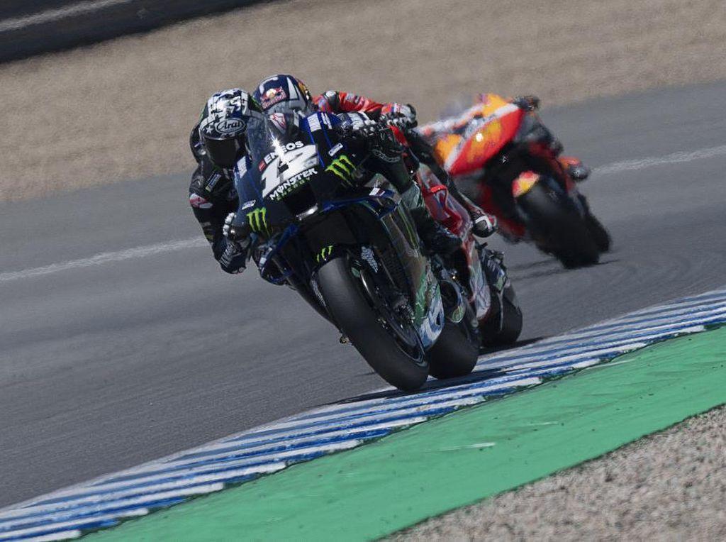 Tes MotoGP Jerez: Quartararo Absen, Vinales Tercepat