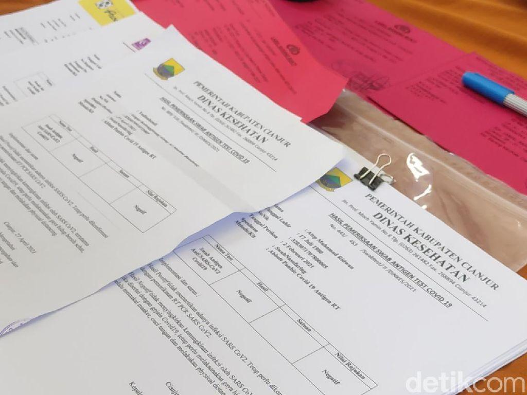 Honorer Dinkes Cianjur Terlibat Pemalsuan Surat Swab Antigen