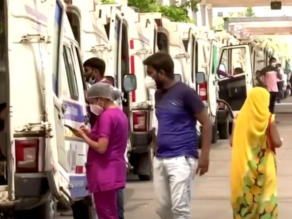 Dokter di India Sebut Lonjakan Covid-19 Bak Bencana Besar
