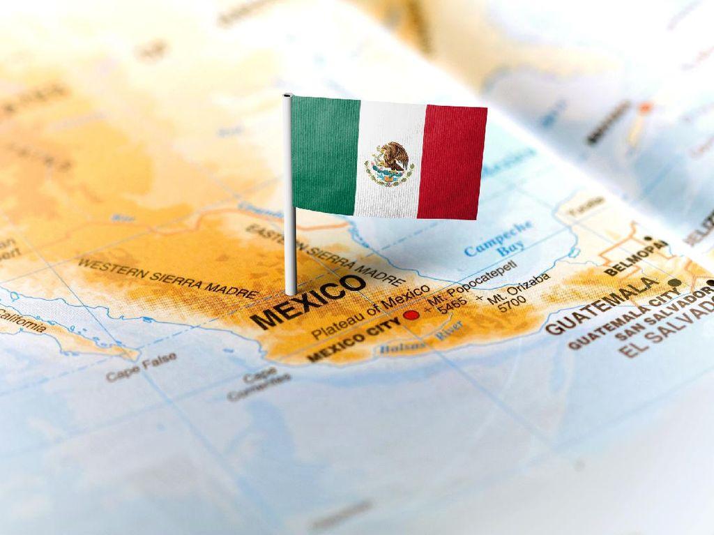 Jejak Tapak Tangan Peradaban Maya Kuno Ditemukan di Meksiko