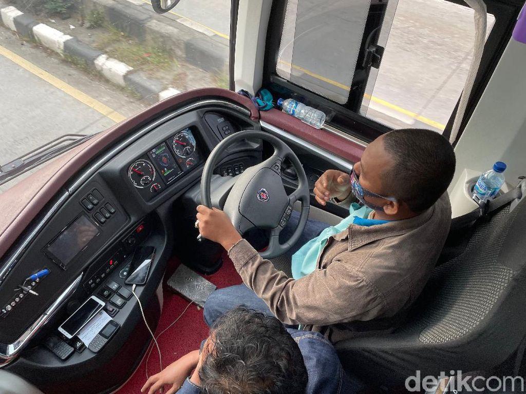 Bye Rp 15 Juta! Enggak Ada Lagi Panen Raya buat Sopir Bus karena Larangan Mudik