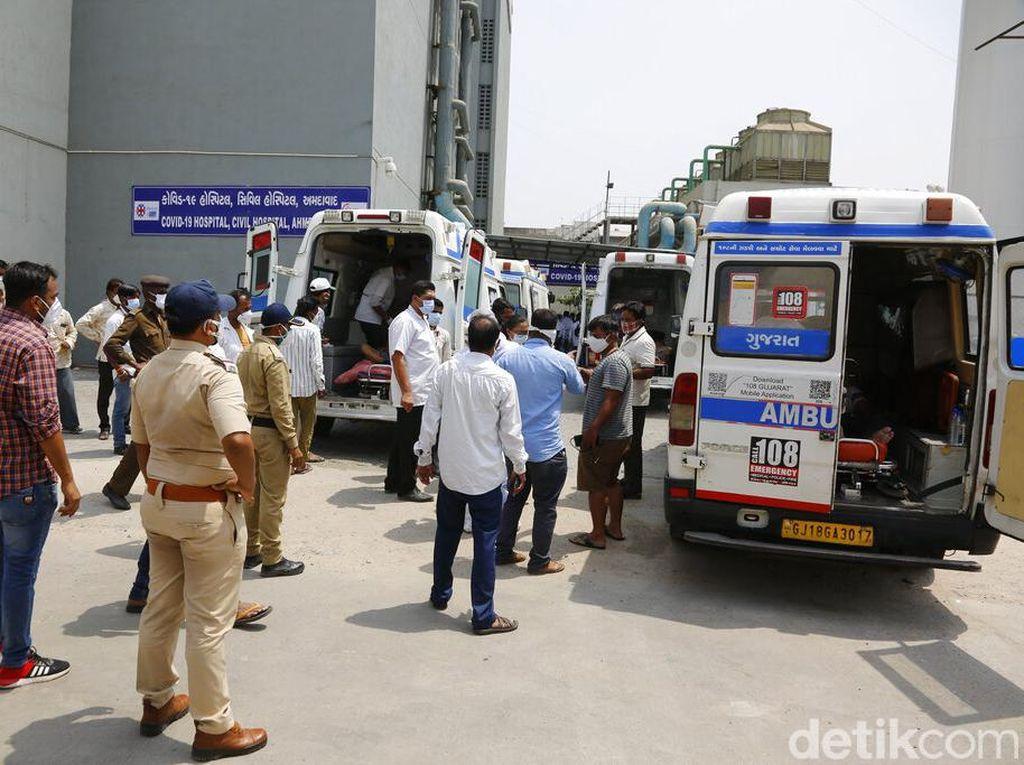 Corona Makin Gawat, India Catat Rekor 3.780 Kematian dalam Sehari