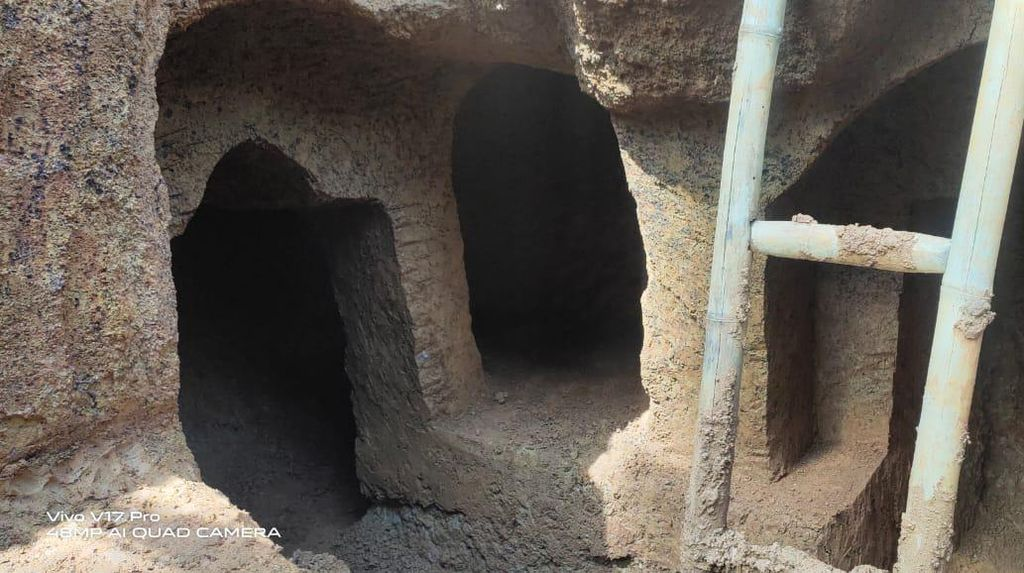 Potret Rumah Bawah Tanah yang Digali Kakek di Sulsel 2 Tahun