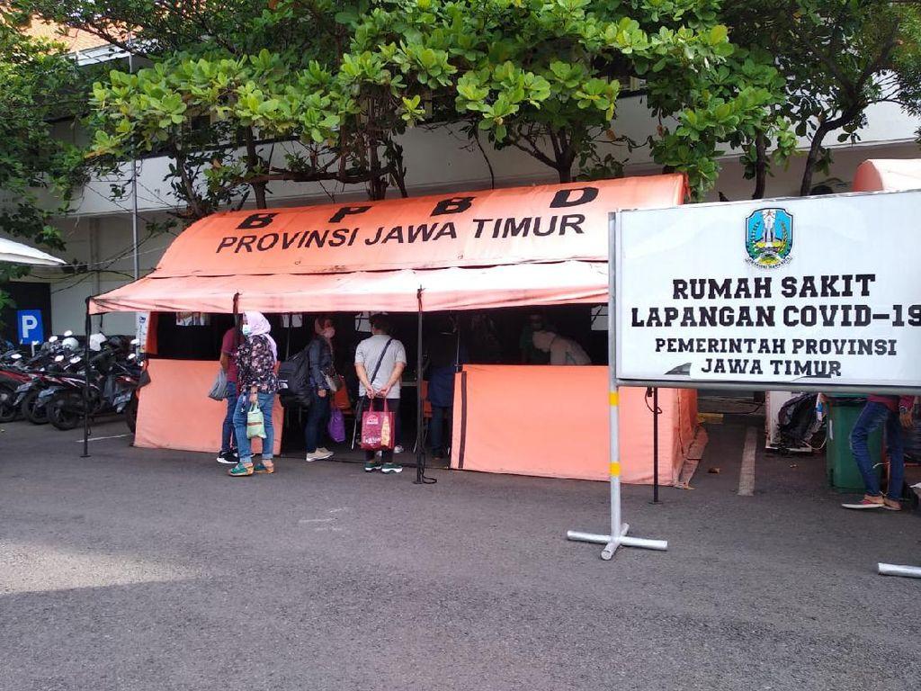 RS Darurat Indrapura Surabaya Rawat 34 TKI Positif COVID-19