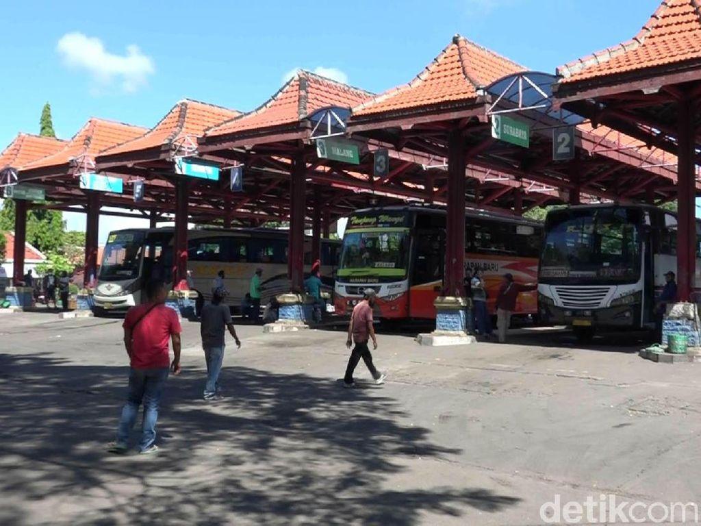 Hanya Bus Darurat yang Boleh Beroperasi di Terminal Bayuangga pada 6-17 Mei