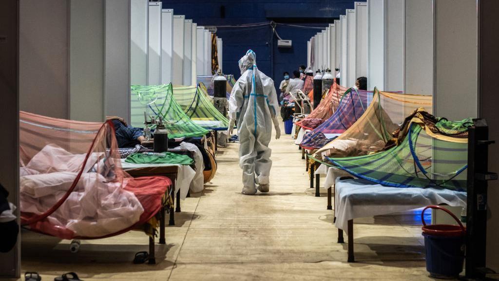Potret Pilu Saat India Tembus 20 Juta Kasus COVID-19