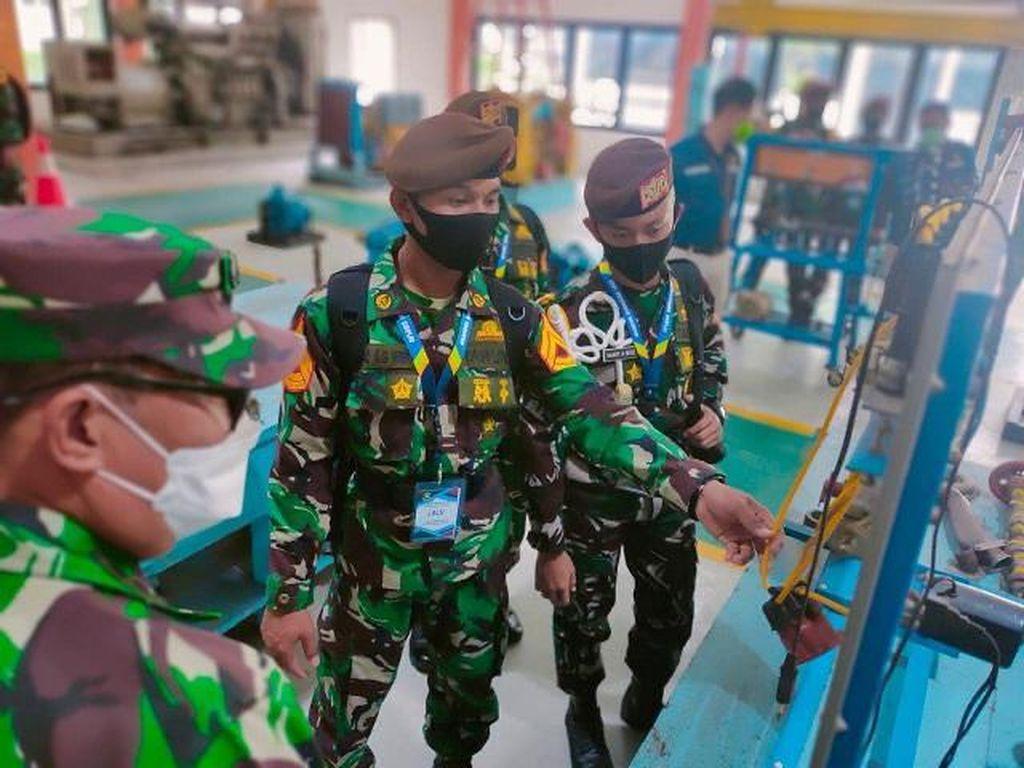 TNI Kirim 16 Taruna Akademi AL ke PPSDM Migas, Latihan Kelola BBM