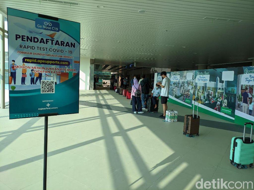 H-1 Larangan Mudik, 4.000 Penumpang Tiba di Bandara Kulon Progo Hari Ini