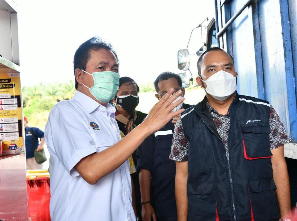Jelang Lebaran, BPH Migas Cek Pasokan BBM di Lampung-Aceh