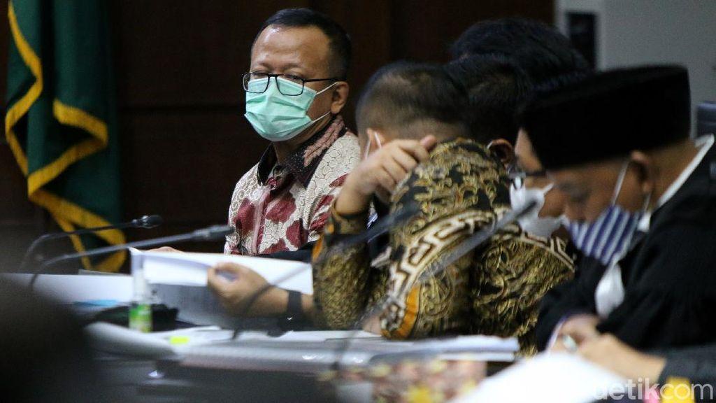 Momen Edhy Prabowo Jalani Sidang Lanjutan Korupsi Ekspor Benur