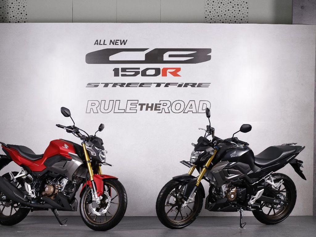 All New Honda CB150R 2021: Spesifikasi, Fitur, Varian, dan Harga