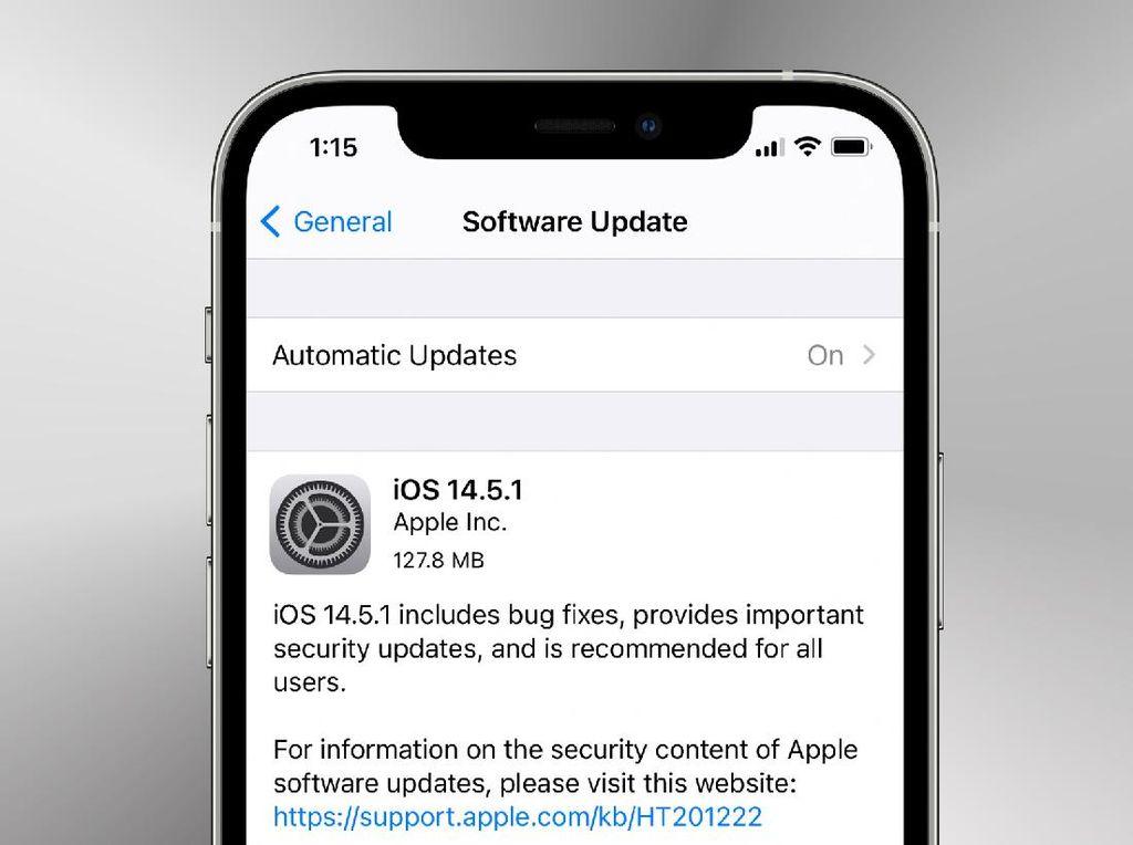 Penting! Segera Update iOS 14.5.1, macOS 11.3.1 dan WatchOS 7.4.1