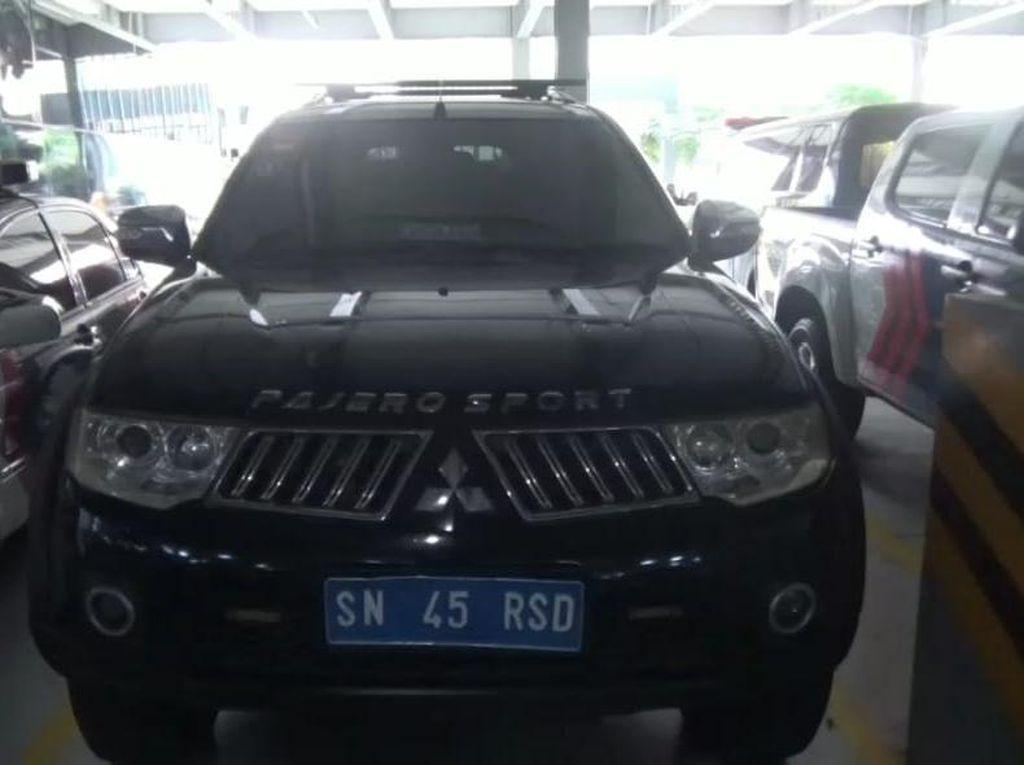 Mobil Bernopol Kekaisaran Sunda Nusantara Disita, Ini Penampakannya