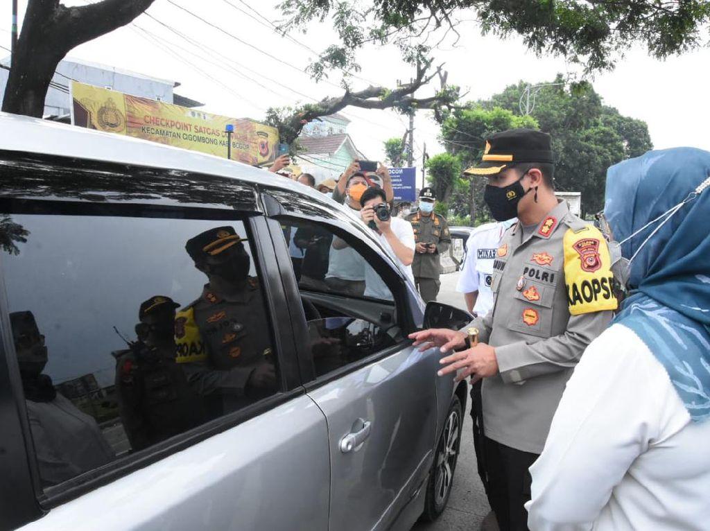 Halau Pemudik, 223 Pos Penyekatan Didirikan di Bogor
