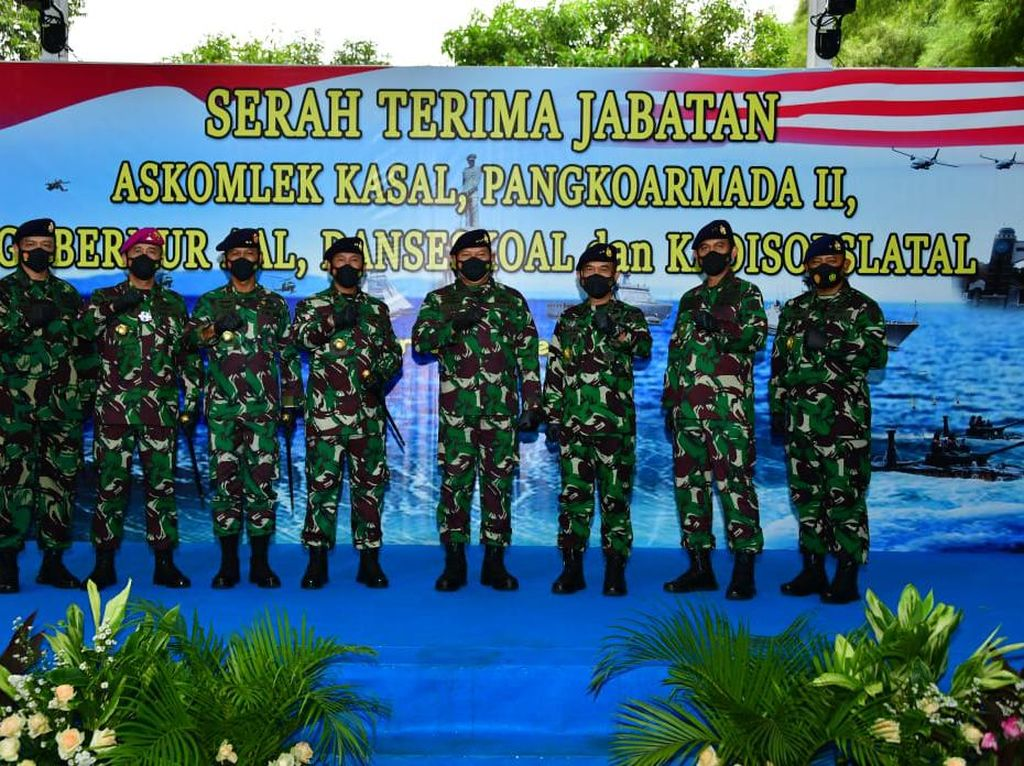 Laksda Iwan Isnurwanto Resmi Jabat Pangkoarmada II