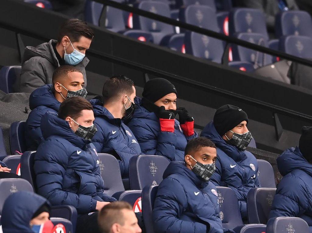 PSG Kalah Bukan Gara-gara Mbappe Absen