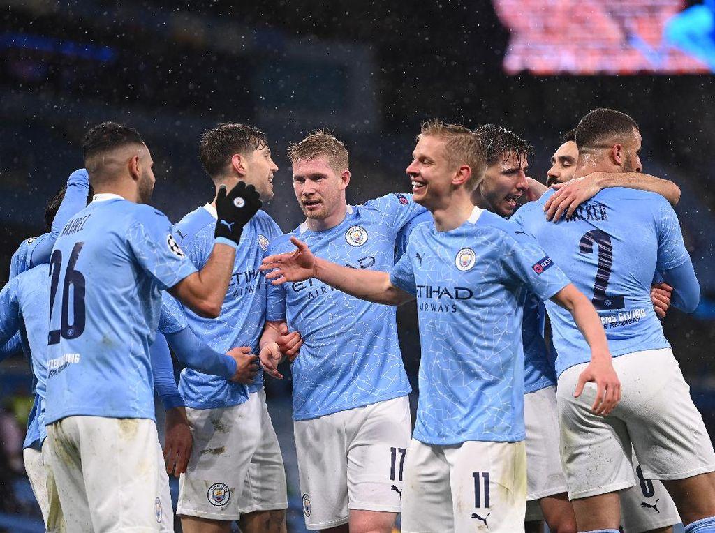Man City Tak Terlena di Liga Inggris, Lebih Pede di Liga Champions