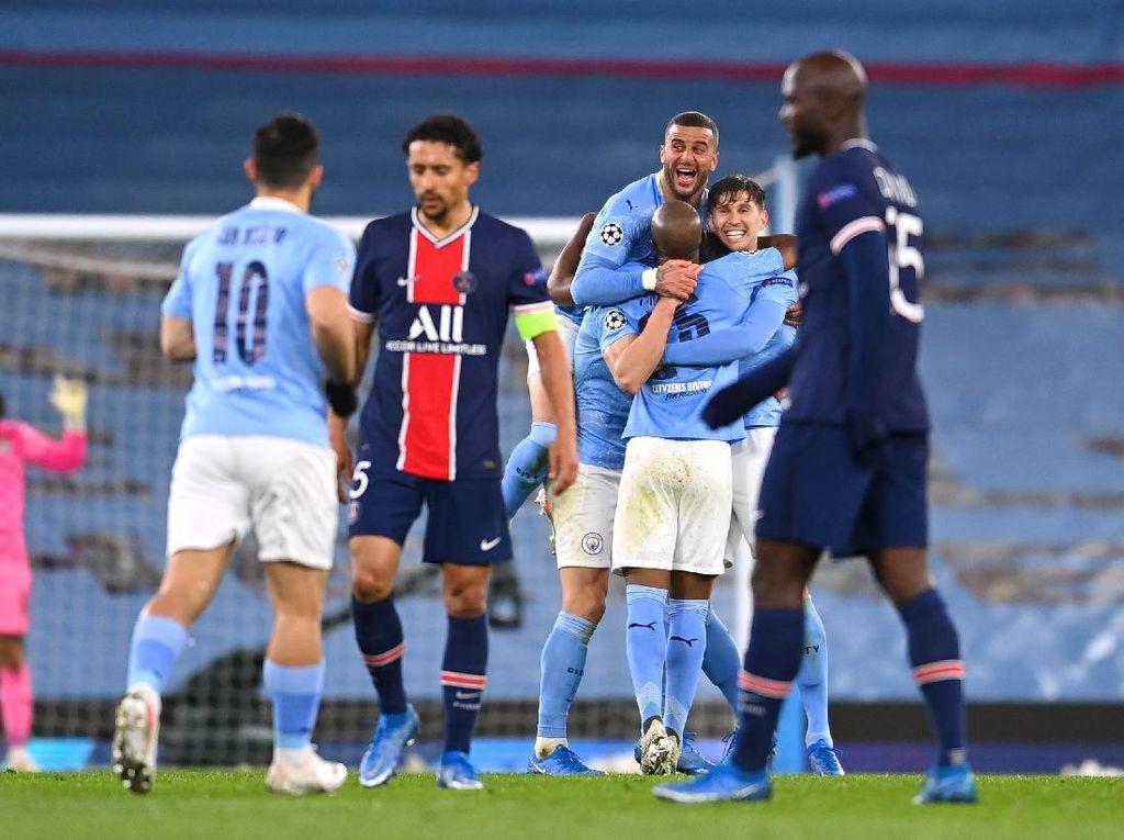 Man City ke Final Juga Berkat Catatan Pertahanan yang Wow