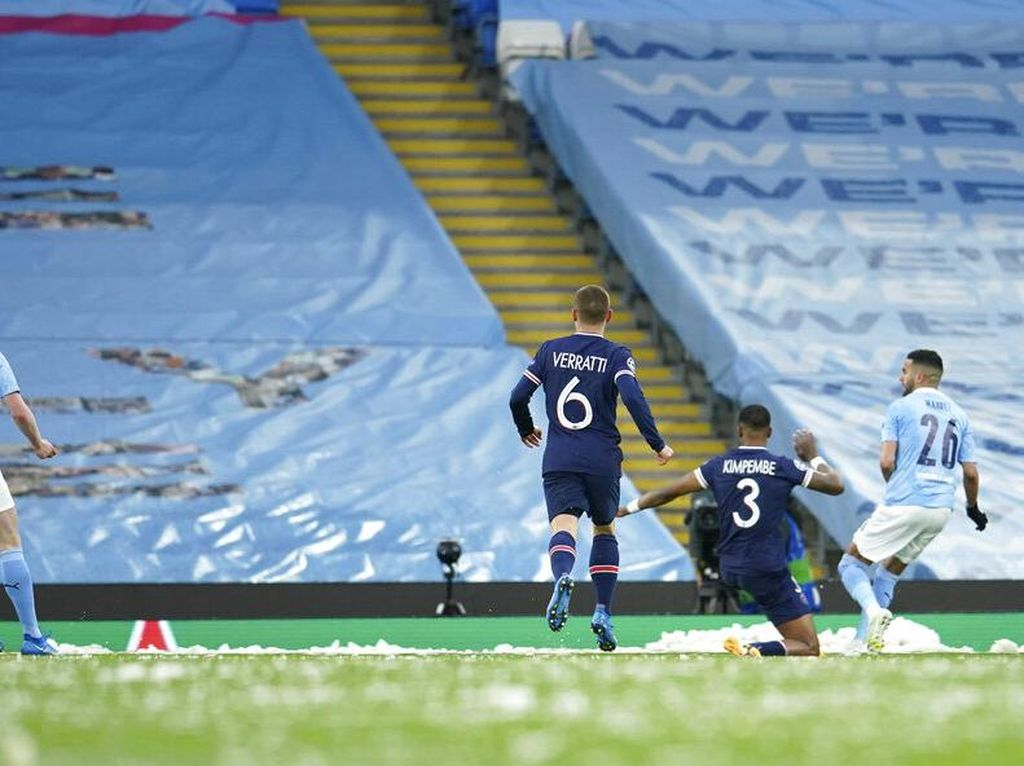 Babak I Tuntas, Man City Unggguli PSG 1-0