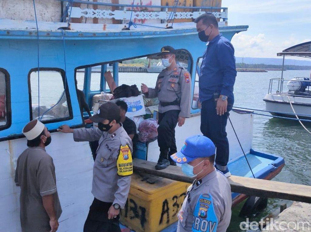 Empat Pemudik Naik Kapal Nelayan dari Bali ke Sapeken Diputar Balik